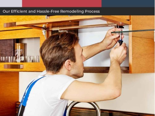 Our Efficient and Hassle Free Remodeling Process