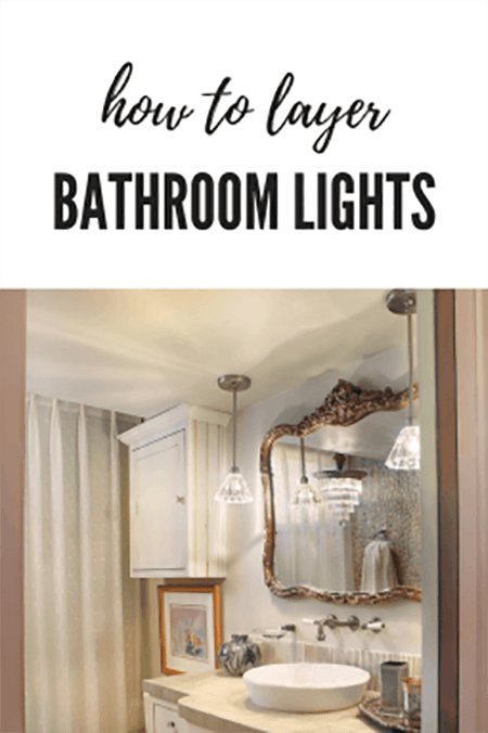 What Lights Should You Use in Your Bathroom Renovation