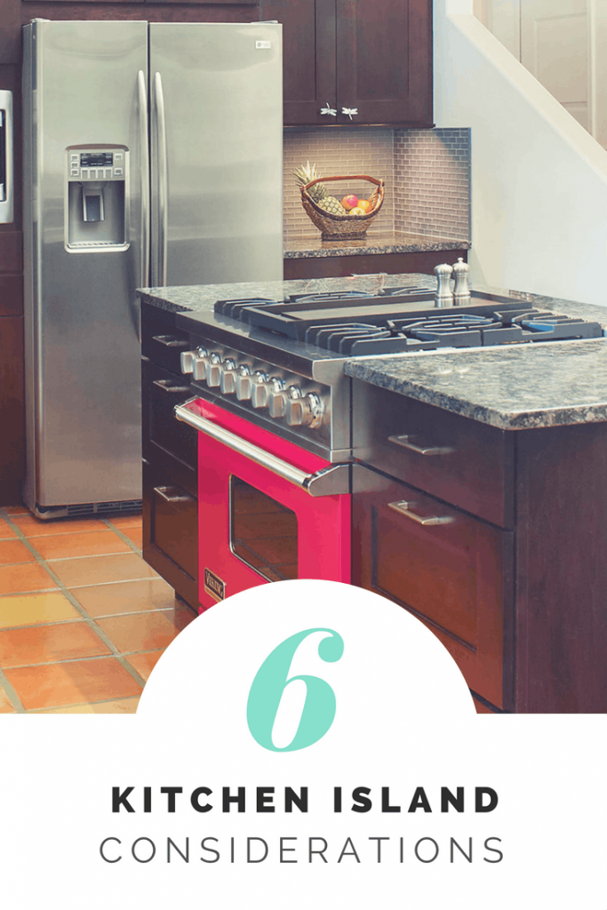 6 Kitchen Island Considerations