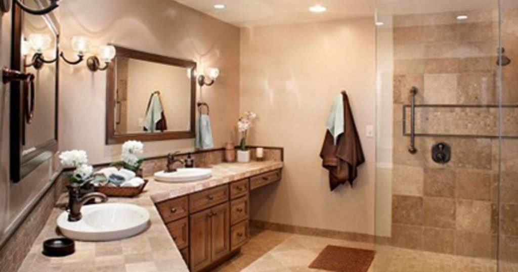 Double Bathroom Vanity Installation