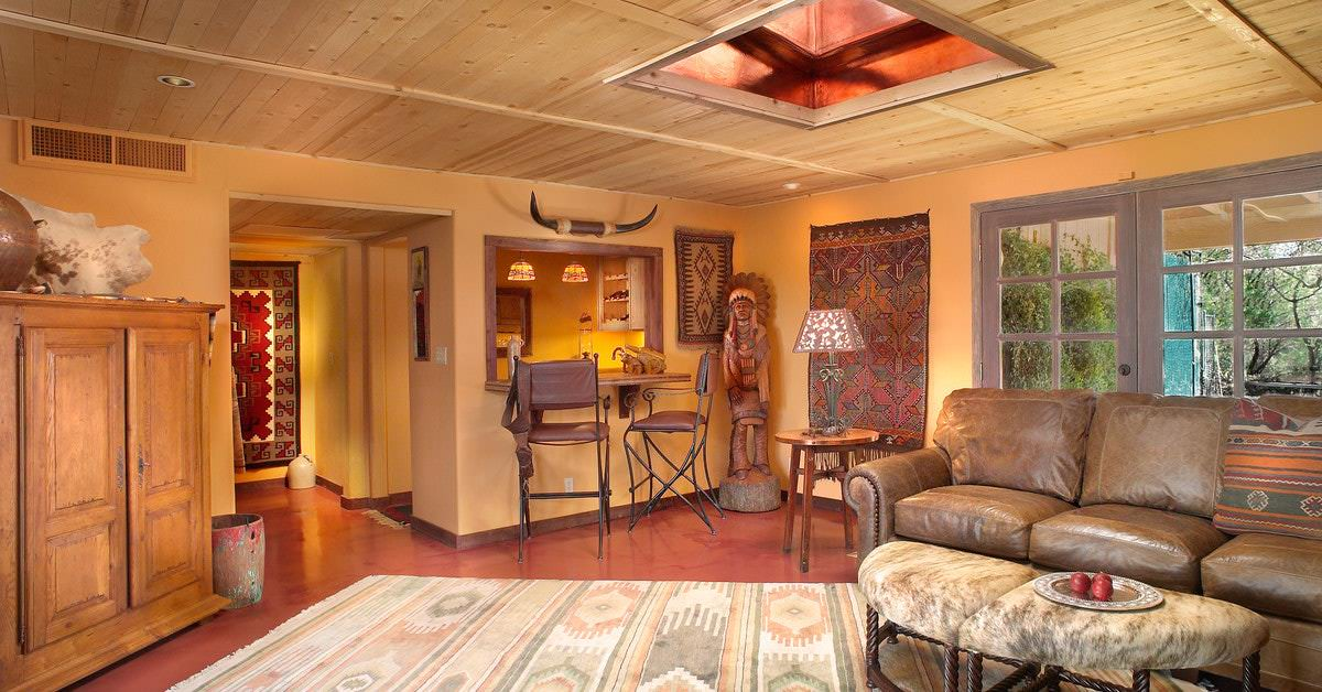 Which home improvements pay off for Native american living room decor