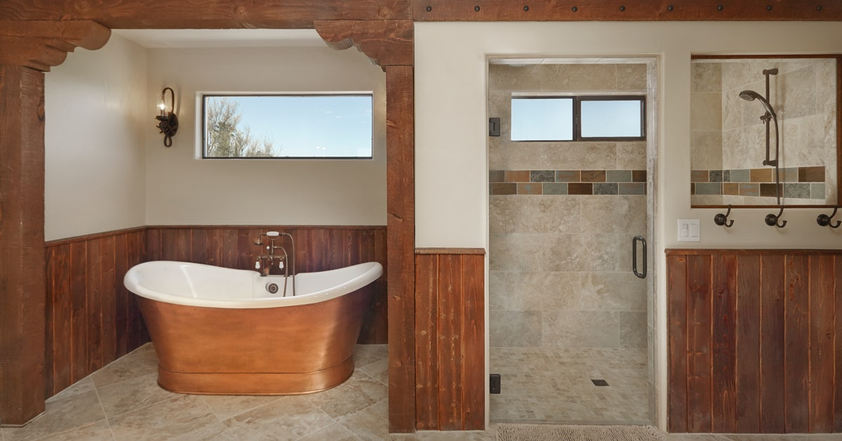 Remodeling Your Tucson Home When You Live In Portland Eren Design Best Bathroom Remodel Tucson Style