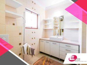 Make a Small Bathroom Comfortable